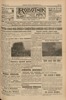 Robotnik : centralny organ P.P.S. R.41 [i.e.43], nr 293 (2 października 1937) = nr 7175 [skonfiskowany]