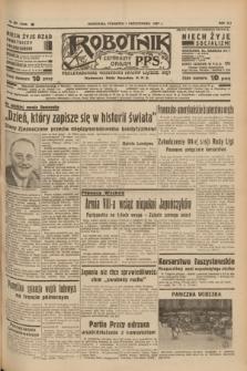 Robotnik : centralny organ P.P.S. R.41 [i.e.43], nr 301 (7 października 1937) = nr 7183