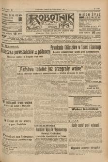 Robotnik : centralny organ P.P.S. R.41 [i.e.43], nr 304 (9 października 1937) = nr 7185