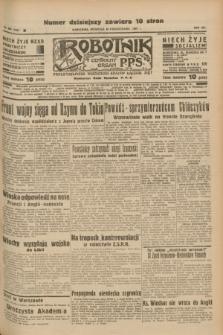 Robotnik : centralny organ P.P.S. R.41 [i.e.43], nr 305 (10 października 1937) = nr 7187