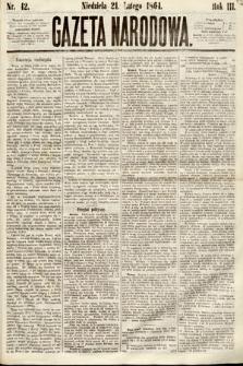 Gazeta Narodowa. 1864, nr42