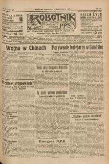 Robotnik : centralny organ P.P.S. R.41 [i.e.43], nr 306 (11 października 1937) = nr 7188