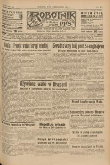 Robotnik : centralny organ P.P.S. R.41 [i.e.43], nr 308 (13 października 1937) = nr 7190