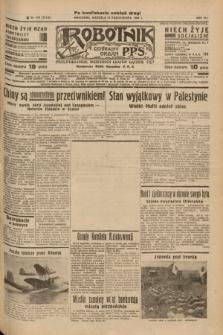 Robotnik : centralny organ P.P.S. R.41 [i.e.43], nr 313 (17 października 1937) = nr 7195 (po konfiskacie nakład drugi)