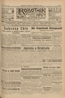 Robotnik : centralny organ P.P.S. R.41 [i.e.43], nr 314 (18 października 1937) = nr 7196