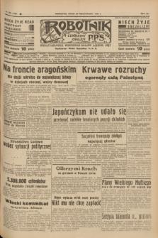 Robotnik : centralny organ P.P.S. R.41 [i.e.43], nr 316 (20 października 1937) = nr 7198