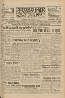 Robotnik : centralny organ P.P.S. R.41 [i.e.43], nr 320 (24 października 1937) = nr 7202