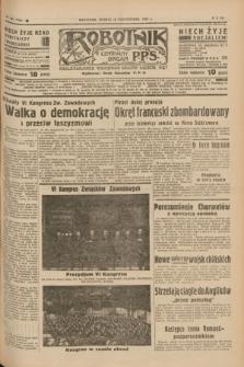 Robotnik : centralny organ P.P.S. R.41 [i.e.43], nr 322 (26 października 1937) = nr 7204