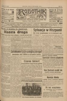 Robotnik : centralny organ P.P.S. R.41 [i.e.43], nr 323 (27 października 1937) = nr 7205
