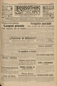 Robotnik : centralny organ P.P.S. R.41 [i.e.43], nr 324 (28 października 1937) = nr 7206