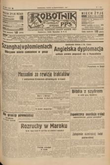 Robotnik : centralny organ P.P.S. R.41 [i.e.43], nr 325 (29 października 1937) = nr 7207