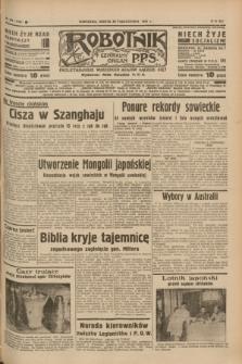 Robotnik : centralny organ P.P.S. R.41 [i.e.43], nr 326 (30 października 1937) = nr 7208