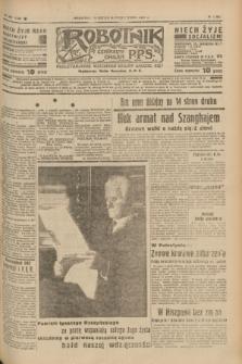 Robotnik : centralny organ P.P.S. R.41 [i.e.43], nr 327 (31 października 1937) = nr 7209