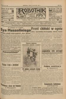 Robotnik : centralny organ P.P.S. R.41 [i.e.43], nr 329 (3 listopada 1937) = nr 7211