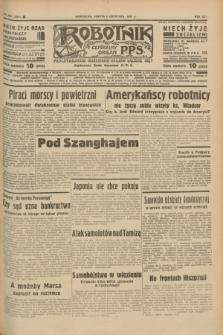 Robotnik : centralny organ P.P.S. R.41 [i.e.43], nr 332 (6 listopada 1937) = nr 7214