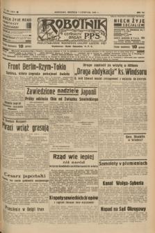 Robotnik : centralny organ P.P.S. R.41 [i.e.43], nr 333 (7 listopada 1937) = nr 7215