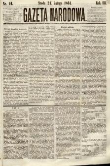 Gazeta Narodowa. 1864, nr44