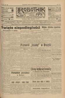 Robotnik : centralny organ P.P.S. R.41 [i.e.43], nr 338 (12 listopada 1937) = nr 7220