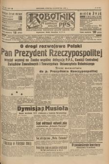 Robotnik : centralny organ P.P.S. R.41 [i.e.43], nr 340 (14 listopada 1937) = nr 7222