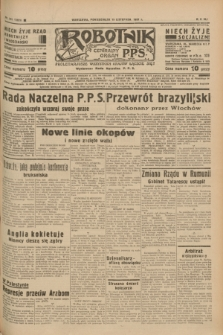 Robotnik : centralny organ P.P.S. R.41 [i.e.43], nr 341 (15 listopada 1937) = nr 7223