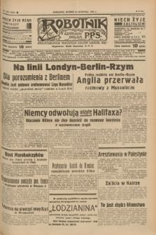 Robotnik : centralny organ P.P.S. R.41 [i.e.43], nr 342 (16 listopada 1937) = nr 7224
