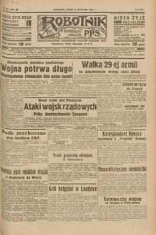 Robotnik : centralny organ P.P.S. R.41 [i.e.43], nr 343 (17 listopada 1937) = nr 7225