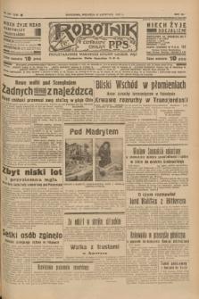 Robotnik : centralny organ P.P.S. R.41 [i.e.43], nr 347 (21 listopada 1937) = nr 7229