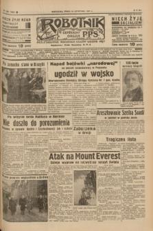 Robotnik : centralny organ P.P.S. R.41 [i.e.43], nr 350 (24 listopada 1937) = nr 7232