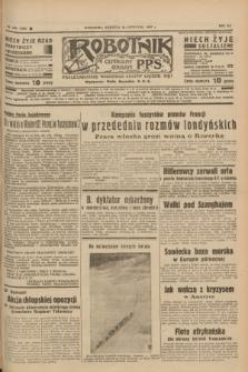 Robotnik : centralny organ P.P.S. R.41 [i.e.43], nr 354 (28 listopada 1937) = nr 7236