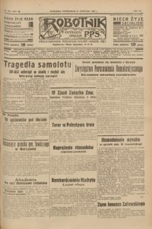 Robotnik : centralny organ P.P.S. R.41 [i.e.43], nr 355 (29 listopada 1937) = nr 7237
