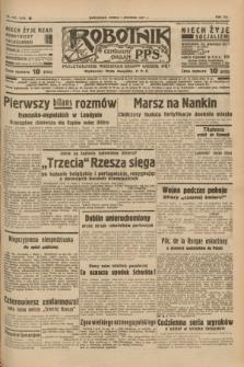 Robotnik : centralny organ P.P.S. R.41 [i.e.43], nr 357 (1 grudnia 1937) = nr 7239