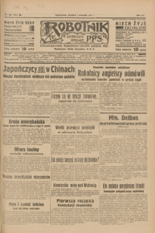Robotnik : centralny organ P.P.S. R.41 [i.e.43], nr 363 (7 grudnia 1937) = nr 7245