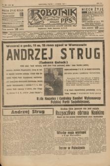Robotnik : centralny organ P.P.S. R.41 [i.e.43], nr 366 (10 grudnia 1937) = nr 7248
