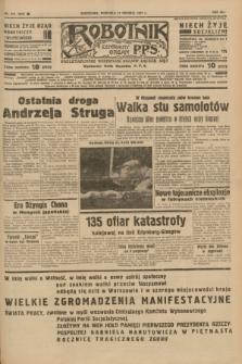 Robotnik : centralny organ P.P.S. R.41 [i.e.43], nr 368 (12 grudnia 1937) = nr 7250