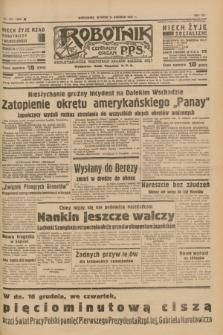 Robotnik : centralny organ P.P.S. R.41 [i.e.43], nr 370 (14 grudnia 1937) = nr 7252