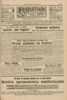 Robotnik : centralny organ P.P.S. R.41 [i.e.43], nr 375 (18 grudnia 1937) = nr 7257