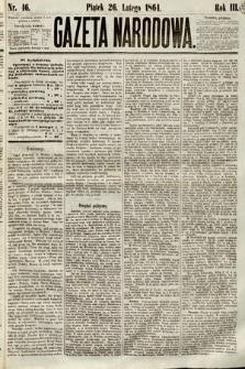 Gazeta Narodowa. 1864, nr46