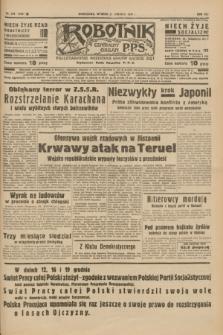 Robotnik : centralny organ P.P.S. R.41 [i.e.43], nr 378 (21 grudnia 1937) = nr 7260