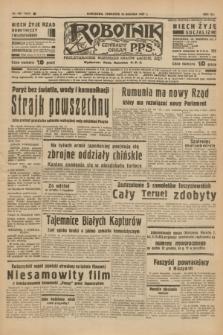 Robotnik : centralny organ P.P.S. R.41 [i.e.43], nr 385 (30 grudnia 1937) = nr 7267
