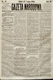Gazeta Narodowa. 1864, nr47