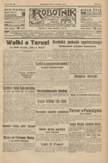 Robotnik : centralny organ P.P.S. R.42 [i.e.44], nr 6 (7 stycznia 1938) = nr 7274