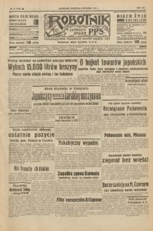 Robotnik : centralny organ P.P.S. R.42 [i.e.44], nr 8 (9 stycznia 1938) = nr 7276