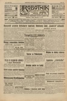 Robotnik : centralny organ P.P.S. R.42 [i.e.44], nr 9 (10 stycznia 1938) = nr 7277