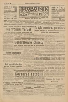 Robotnik : centralny organ P.P.S. R.42 [i.e.44], nr 12 (13 stycznia 1938) = nr 7280
