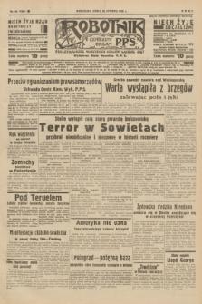 Robotnik : centralny organ P.P.S. R.42 [i.e.44], nr 26 (26 stycznia 1938) = nr 7294