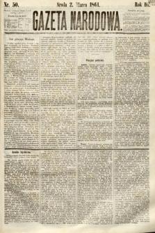 Gazeta Narodowa. 1864, nr50