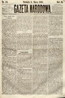 Gazeta Narodowa. 1864, nr54
