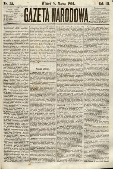 Gazeta Narodowa. 1864, nr55
