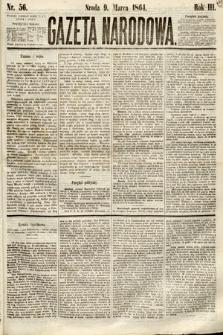 Gazeta Narodowa. 1864, nr56