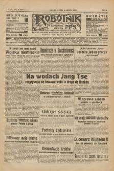 Robotnik : centralny organ P.P.S. R.40 [i.e.44], nr 178 (29 czerwca 1938) = nr 7447